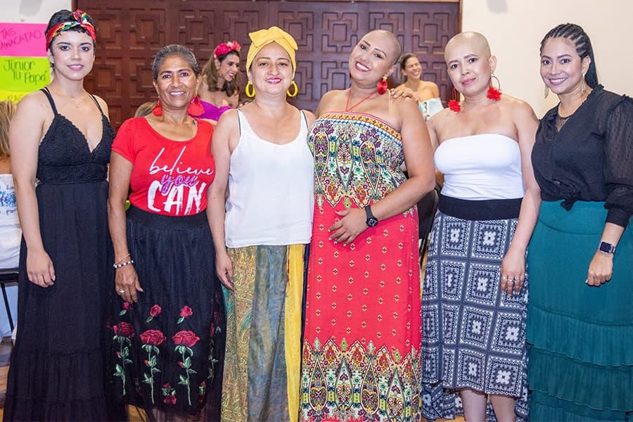 Lina Cardona, Nora Bermúdez, Gloria Yaneth López, Mariluz Cardona, Diana Cano y Yaneth Rodríguez 02