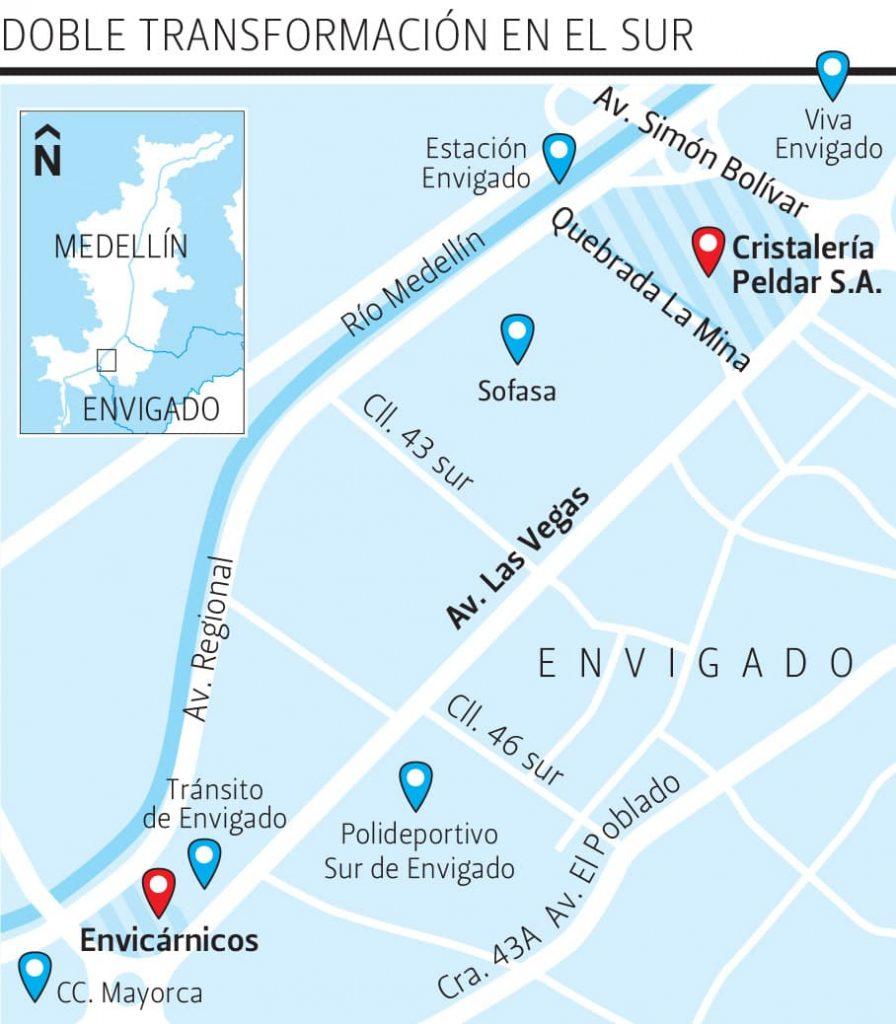 Metro y Alcaldía  de Envigado,  a destrabar futuro del lote de Peldar