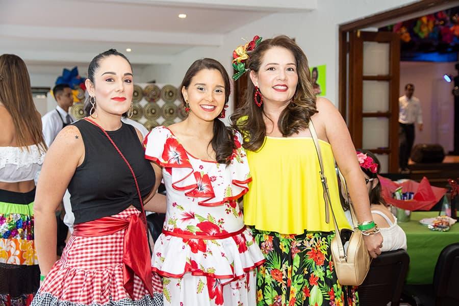 Pao Chemello, Rossana Borrero y María josé Villa