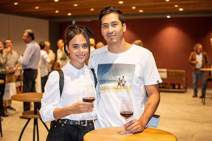 Sara Hoyos y Andrés Romero