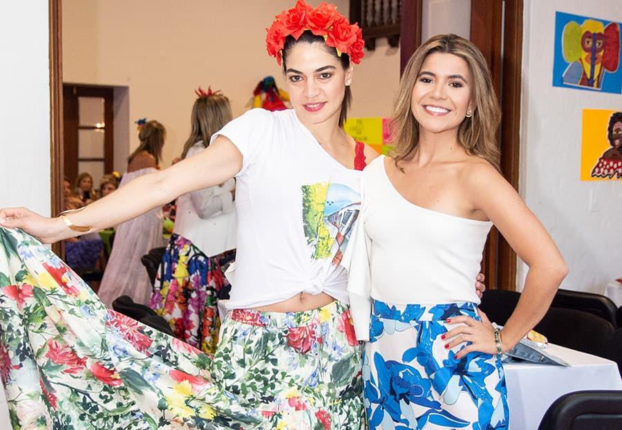 Sofía cabrales y Daniela Londoño