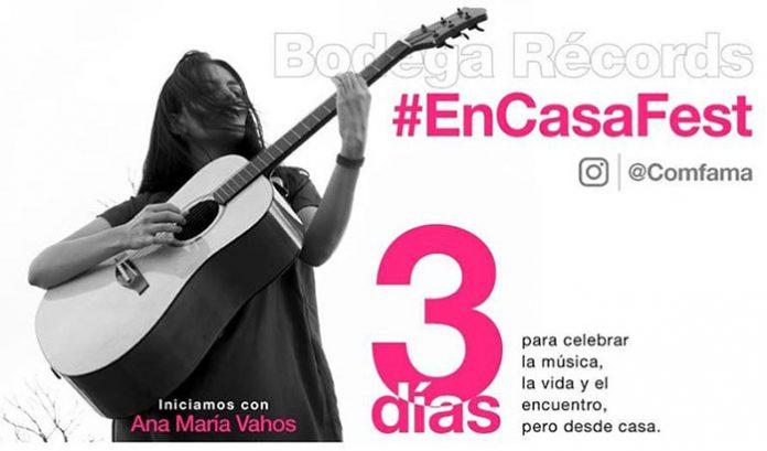 Comfama celebraran #EnCasaFestla música no para