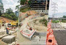 Cinco proyectos viales en El Poblado atrasados