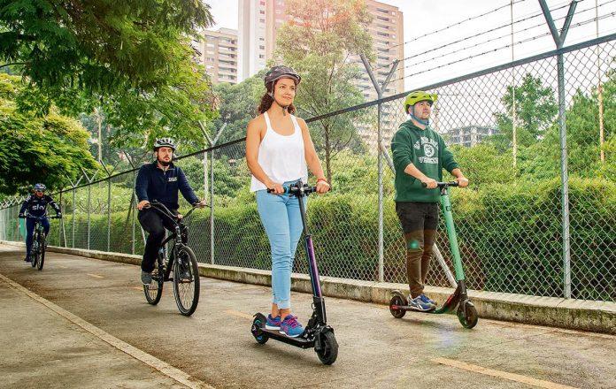 patinetas eléctricas en Medellín