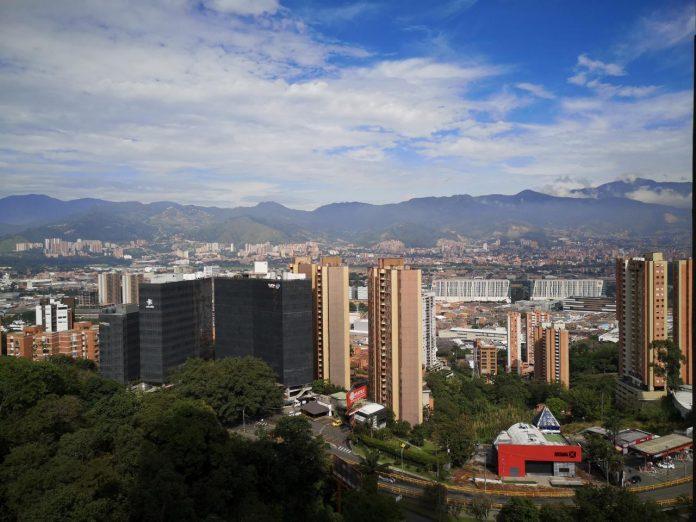 Calidad del aire Medellín 28 abril