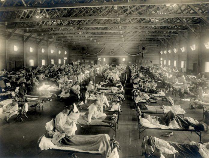 Pandemia de 1918 y COVID-19