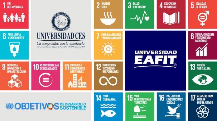 Eafit y CES mejores de Colombia en ODS