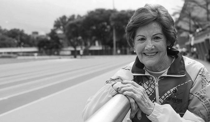 Emilia García de Fontán falleció este miércoles 22 de abril. Foto archivo.