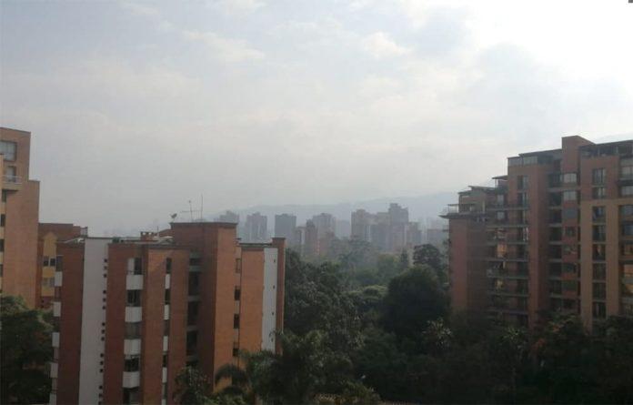calidad del aire en Medellín 17 de abril