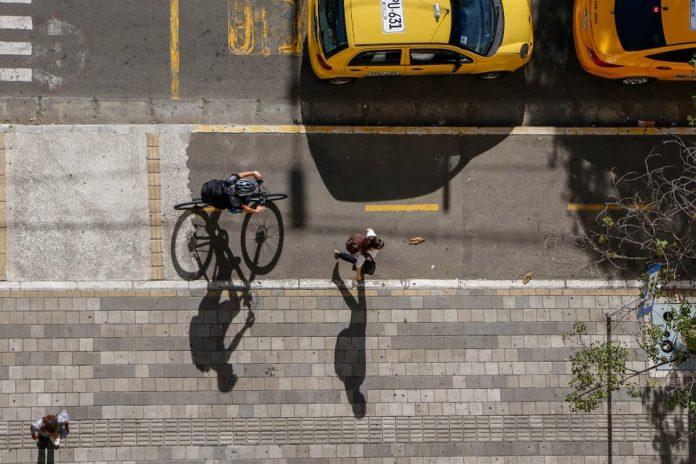 Cambios pequeños en la vocación del transporte de la ciudad, repercuten en la reducción de contaminantes del aire.
