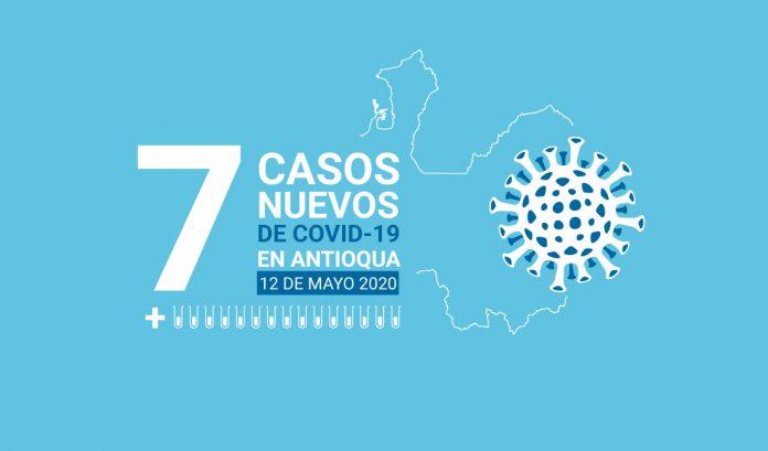 Antioquia tiene siete nuevos casos de COVID-19 en este 12 de mayo