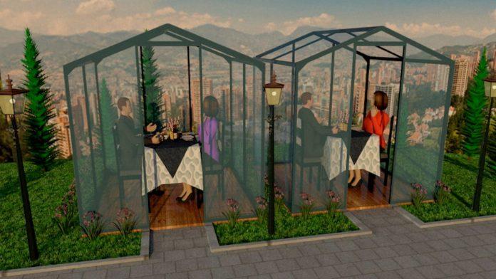Cabinas para restaurantes