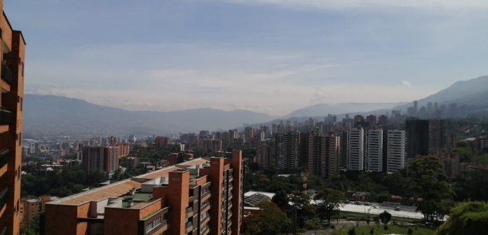 Calidad del aire Medellín 5 mayo