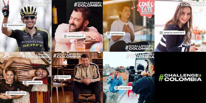Un Challenge por Colombia