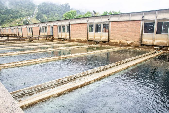 Planta de tratamiento de agua EPM