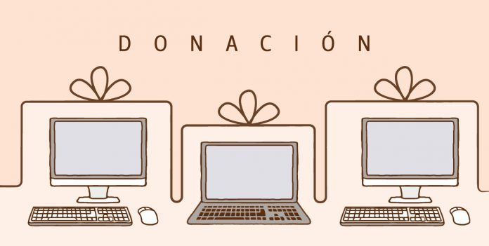 Los donantes deben comunicarse con Uniminuto. Por correo electrónico la institución agendarán el día y la empresa que recogerá el computador en sus casas.