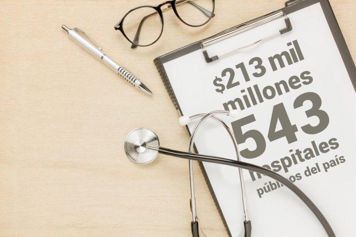 Pago de salarios atrasados a personal de la salud