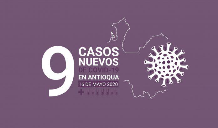COVID-19 en Antioquia este 16 de mayo