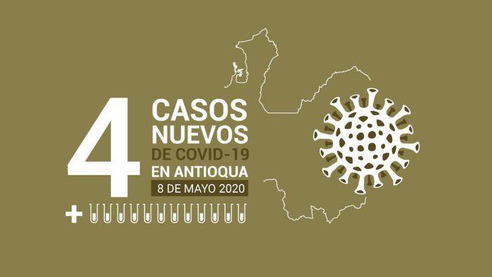 Nuevos casos de COVID-19 en Colombia este 8 de mayo