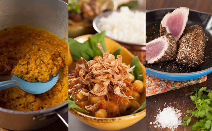 Naan restaurante de cocina India