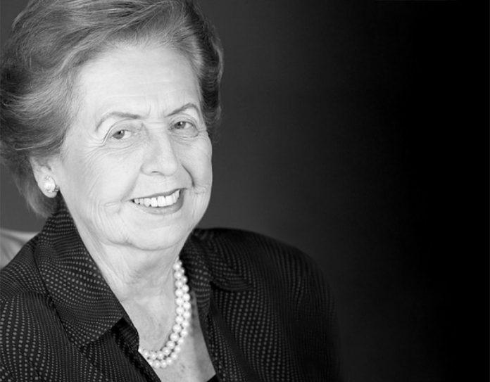 Maritza Uribe de Rodríguez. Se le recordará por su labor social de la Canasta de Máter.