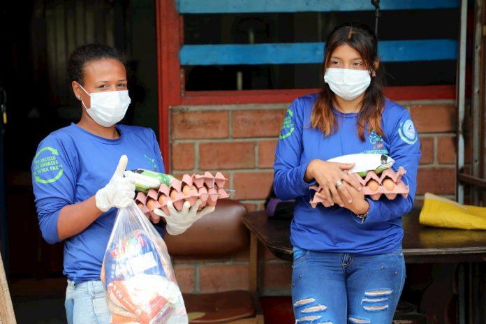 En Medellín, según la Alcaldía, hay cerca de 4.000 recicladores y 17 organizaciones de recuperadores. La campaña Aliados con Propósito se enfoca en beneficiar a los recicladores mayores de 70 años que no están pudiendo trabajar.