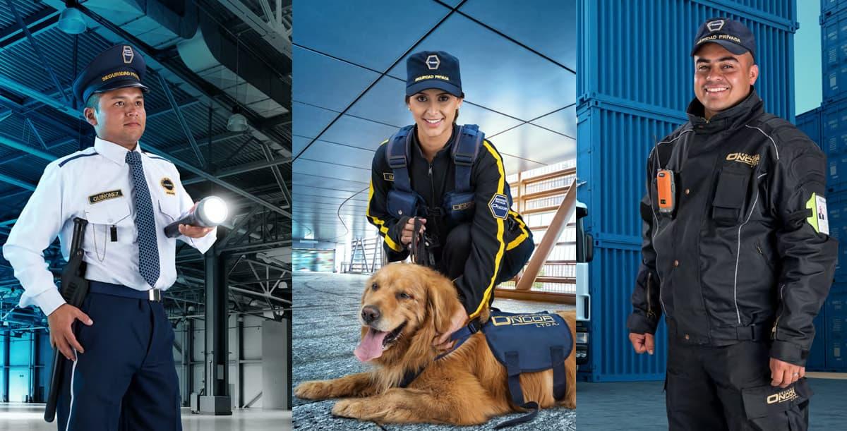 Oncor nuestra seguridad es su confianza en Vigilancia canina, humana y móvil