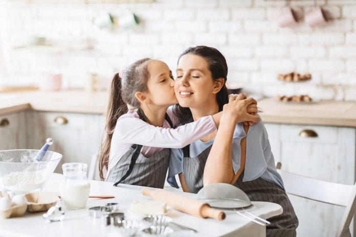 Día de la madre en casa