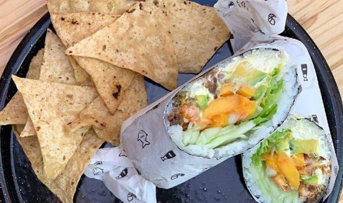 oll Up Sushiburrito es la revolución del sushi