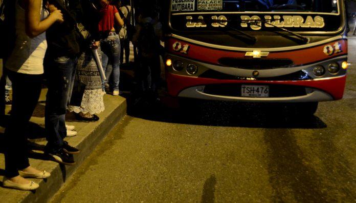 Plan bus búho Horario nocturno de buses en Medellín