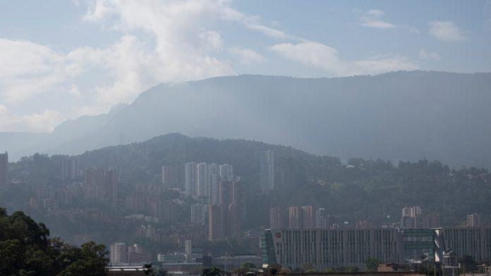 Calidad del aire La arena del desierto del Sahara ya tiene efectos en la calidad del aire en Medellín