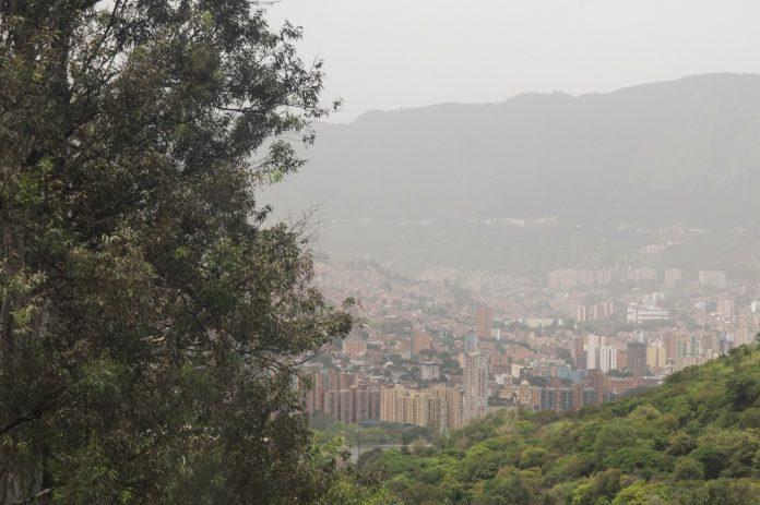 Calidad del aire Medellín 24 junio