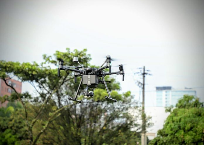 Envigado drones vigilancia 1