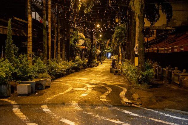 Noche de viernes en el Lleras y Provenza: el silencio de rumba