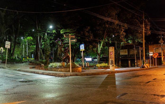 Parque Lleras y Provenza en cuarentena