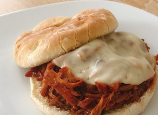 Receta de pulled pork en BBQ y chipotle
