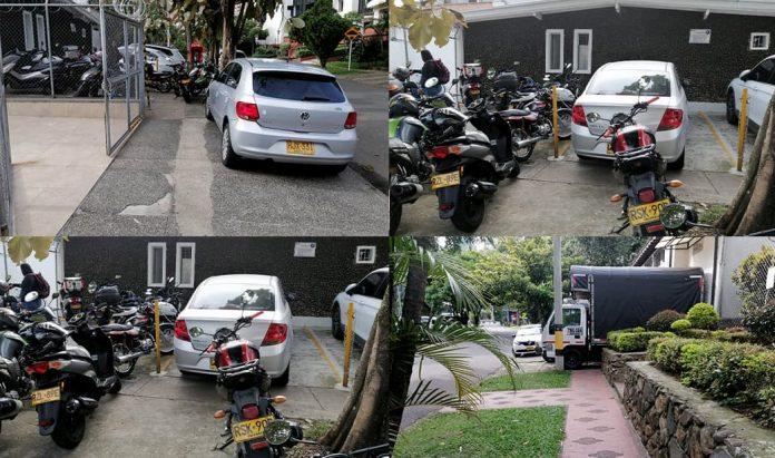 Invasión de andenes en Patio Bonito. Fotos cortesía de Mónica Vallejo.