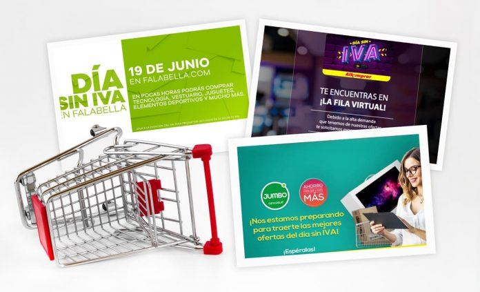Sitios web colapsaron el día sin IVA