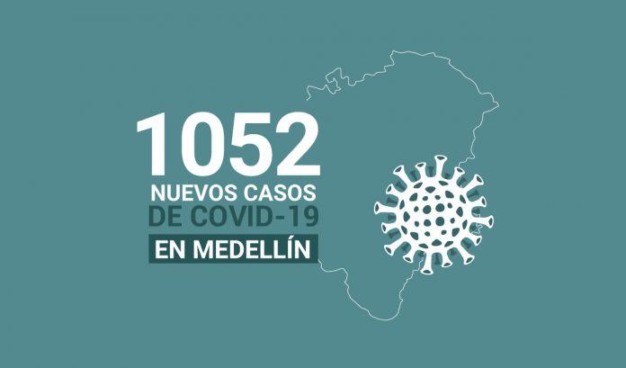1052 casos covid-19 en medellin el 21 de julio