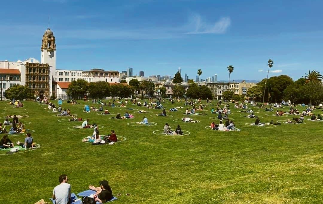 Dolores Park en San Francisco, California. Foto cortesía Miguel Ángel Márquez