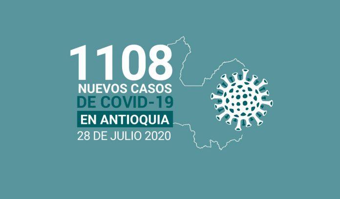 1108 casos covid-19 en antioquia el 28 de julio