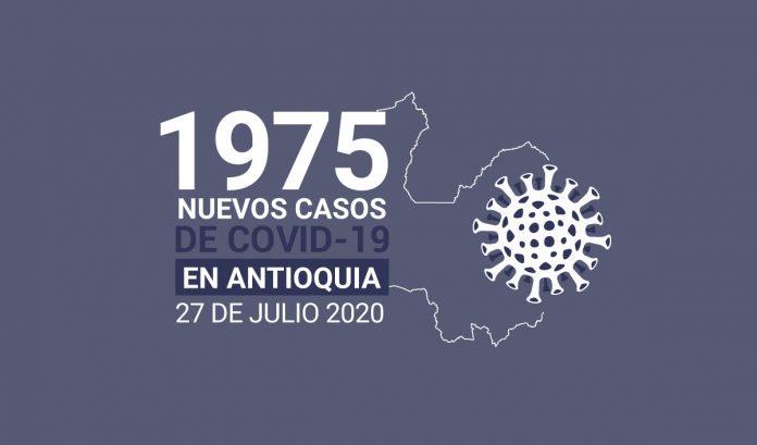 1975 casos covid-19 en antioquia el 27 de julio