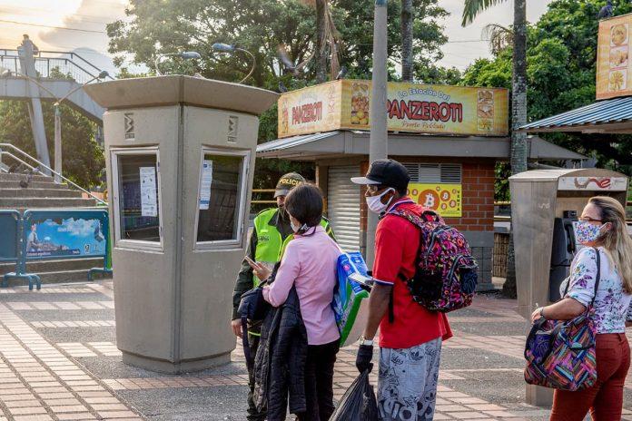 87.815 órdenes de comparendo se han entregado en el Área Metropolitana desde que inició la cuarentena