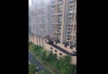 Alerta por humo en edificio Continental Towers