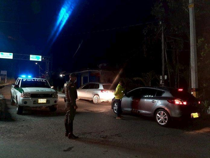 Control de policía Fredonia