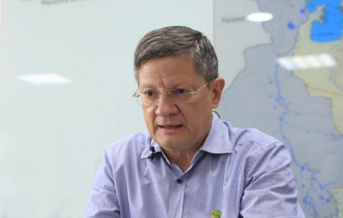Luis Fernando Suárez Gobernador (e) de Antioquia fue internado preventivamente