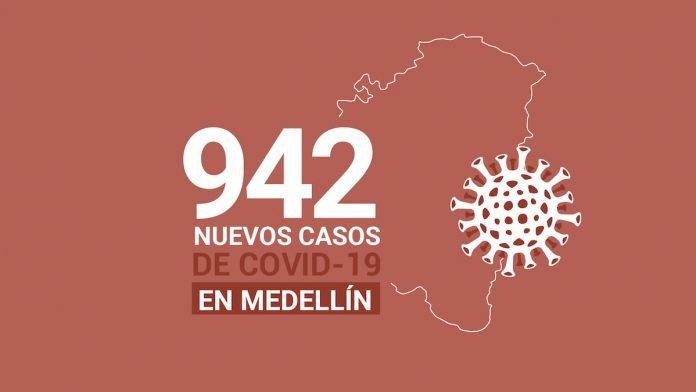 Casos COVID Medellín 30 de julio