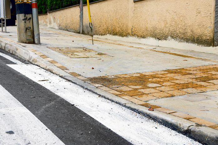 Veeduría logró corrección de andenes en el barrio San Lucas