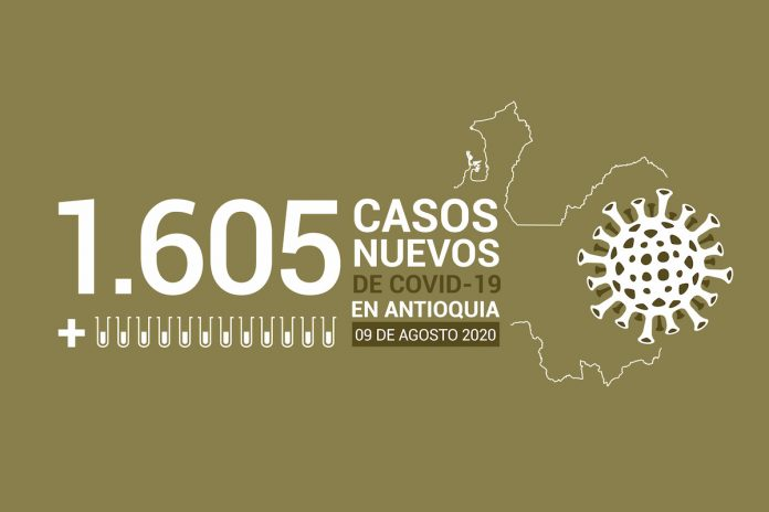 2020-08-09 - Reporte COVID Antioquia