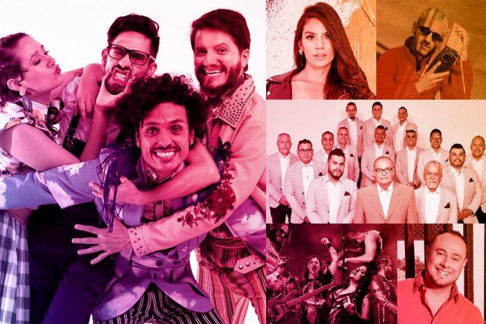 Artistas Concierto Medellín es Sabor